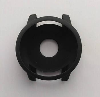 Силиконовый чехол Tamister для смарт-часов Xiaomi AMAZFIT Stratos / 2S Black (Черный)