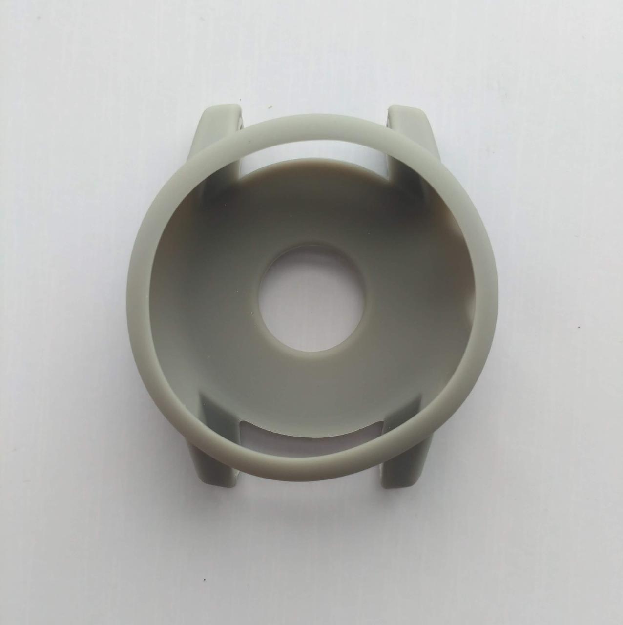 Силиконовый чехол Tamister для смарт-часов Xiaomi AMAZFIT Stratos / 2S Gray (Серый)