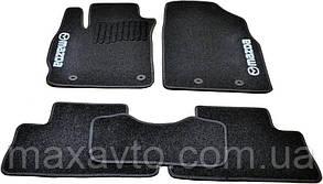 Коврики в салон ворс Mazda CX-7 (2006-2012) /Чёрные, кт 5шт