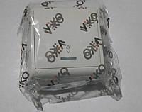 Вимикач 1 прохідний з підсвіткою VIКO VERA