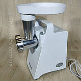 Мясорубка Grunhelm AMG23 (электромясорубка) 1200Вт, фото 5