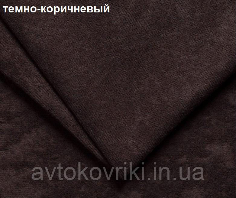 Накидки на сиденья темно-коричневые. Передний комплект. СТАНДАРТ. Авточехлы - фото 8