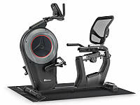 Горизонтальный велотренажер Hop-Sport HS-100L Edge iConsole+ мат