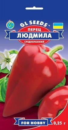 Перец Людмила, пакет 0,25 г - Семена перца, фото 2