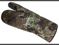 Перчатки для дайвинга Marlin Nord трехпалые 7mm Green XL