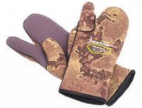 Перчатки для дайвинга Marlin Nord трехпалые 7mm Oliva 2XL
