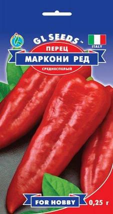 Перец Маркони Ред, пакет 0,25 г - Семена перца, фото 2