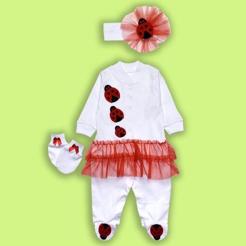 Комбинезон для Малышек с юбочкой