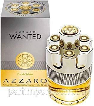 AZZARO WANTED EDT 100 ml  туалетная вода мужская (оригинал подлинник  )