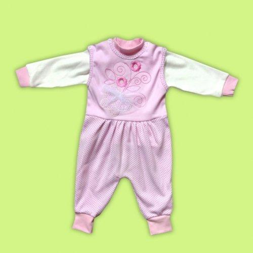 Комплект для малышек 100%хлопок ГОЛУБОЙ И ЖЕЛТЫЙ!!!
