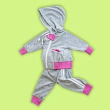 Велюровый костюм для мальчиков и девочек