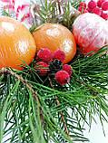 Букет из мыла Новогодний Мандарины, Шоколад и хвоя в Зеленой Лейке, фото 9