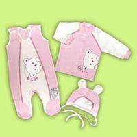Комплект костюмчик для малышей 100% хлопок