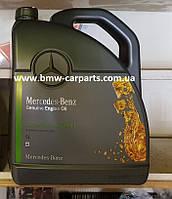 Синтетическое моторное масло Mercedes MB 229.3, вязкость 5W40, 5 литров