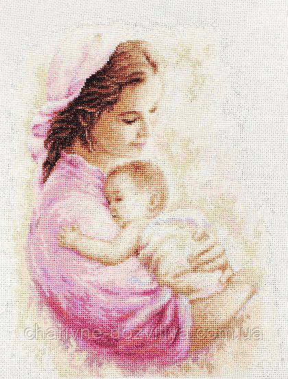"""Набор для вышивания крестиком """"Мать и дитя"""" (девочка)"""