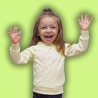 Джемпер с пайетками для девочки «Сердечко», фото 1