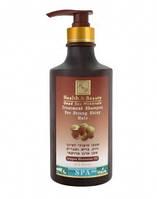 Health and Beauty Шампунь для укрепления и блеска волос с маслом Аргании 780мл
