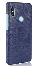 Стильный чехол бампер для Xiaomi Redmi note 5 синий