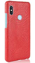 Стильный чехол бампер для Xiaomi Redmi note 5 красный