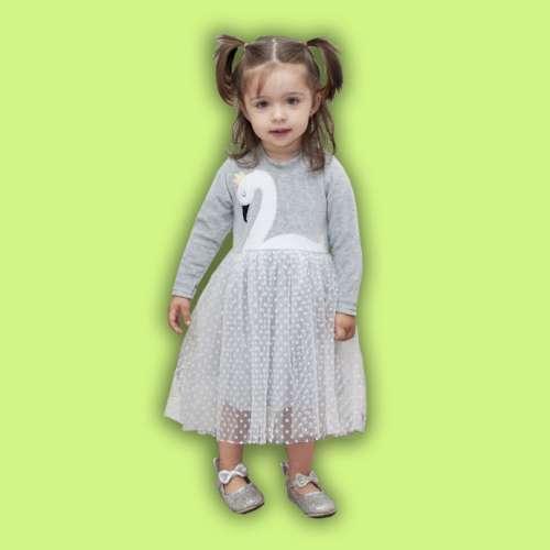 Платье для Девочки Царевна Лебедь