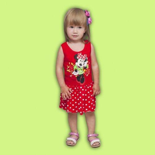 Платье сарафан для девочки «Маус»