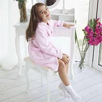 Пушистый халат для девочки РОЗОВОГО НЕТ!!!