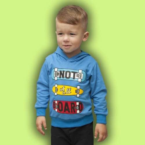 Джемпер с капюшоном для мальчика