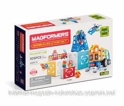 Магнитный конструктор Magformers Эволюция интеллекта 337 элементов