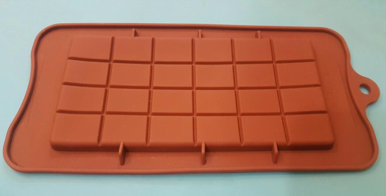 Форма силиконовая Плитка шоколада
