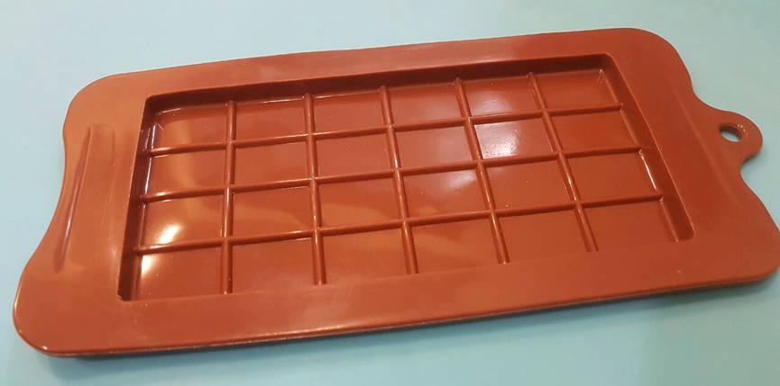 Форма силиконовая Плитка шоколада, фото 2
