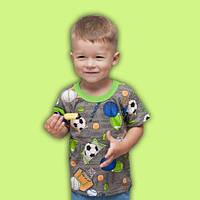 Футболка для мальчика «Футбол»