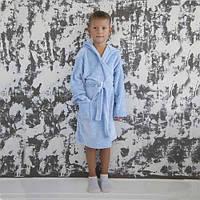 Пушистый халат для мальчика
