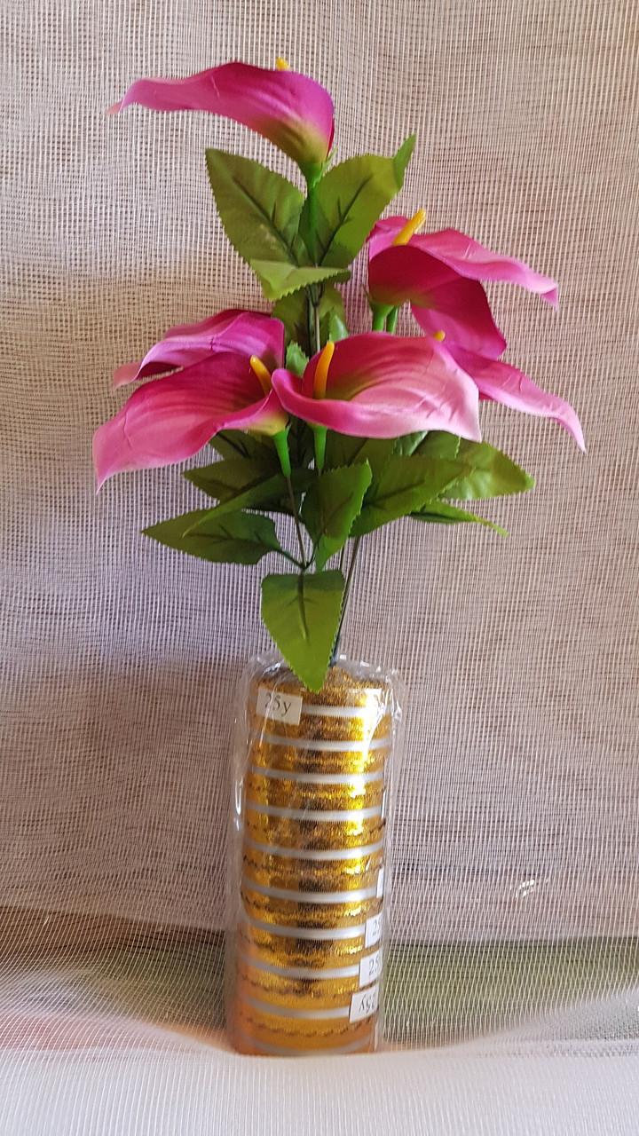 Букет каллы на 9 голов (16 шт/уп) Цветы искусственные оптом