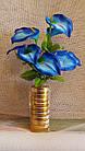 Букет каллы на 9 голов (16 шт/уп) Цветы искусственные оптом, фото 3