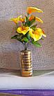 Букет каллы на 9 голов (16 шт/уп) Цветы искусственные оптом, фото 4