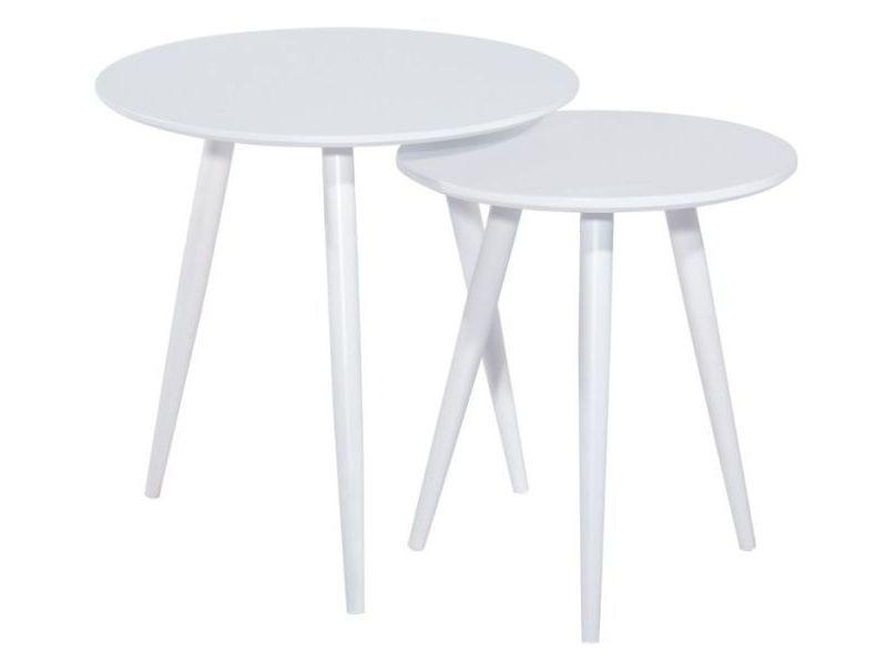 Журнальный столик Cleo Signal белый