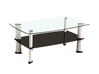 Журнальный столик Galena Signal бело-черный