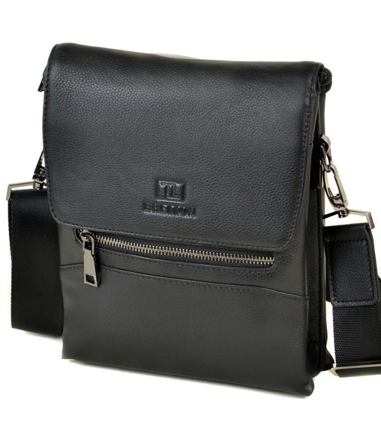 d94eb26f8fda Мужская кожаная сумка BRETTON BE 5432-4 black - Arion-store - кожгалантерея  и
