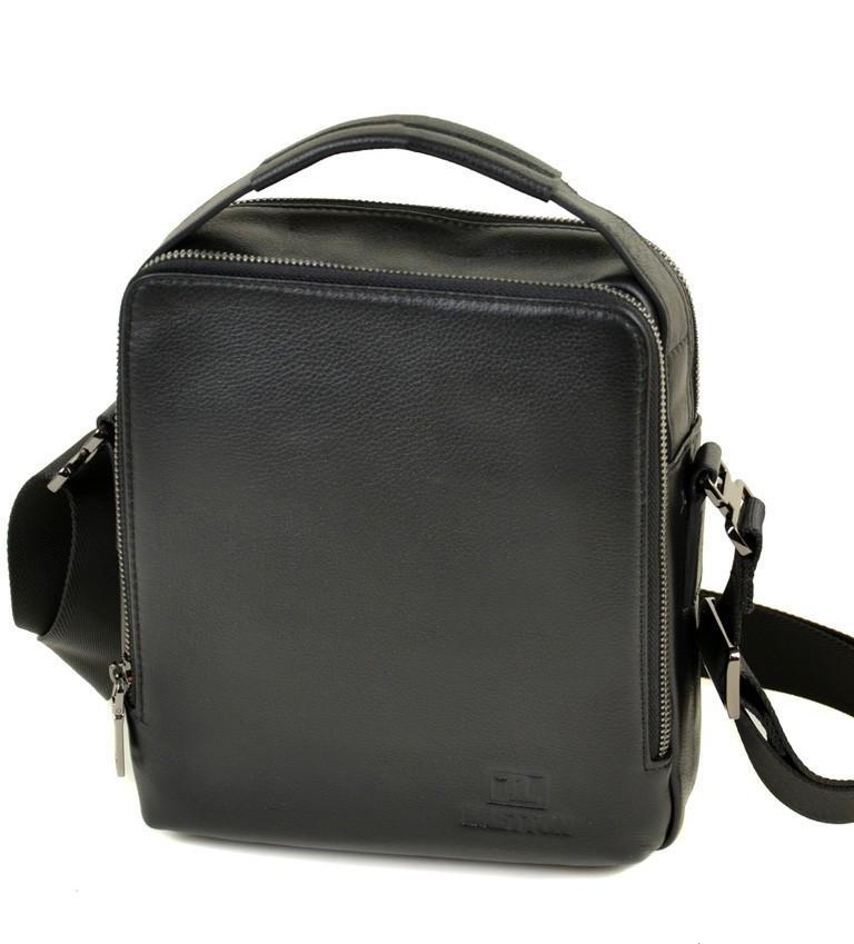 7f849826f1ca Мужская кожаная сумка BRETTON BE 3516-4 black - Arion-store - кожгалантерея  и