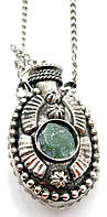 Аромакулон бронзовый с камнями (4х2,5х1,5 см)