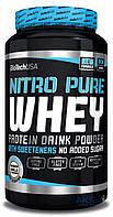 Протеин BioTech USA Nitro Pure Whey 908g бурбон-ваниль