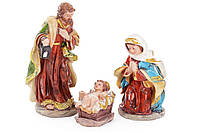 Вертеп Священное семейство (набор из 3 фигур), 16 см, 803-134