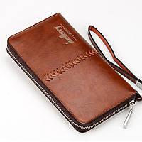 Мужское портмоне Baellerry Leather Коричневый (101185351)