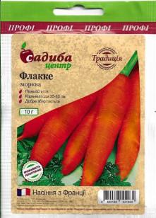 Морква Флакке 10 г (Традиція)
