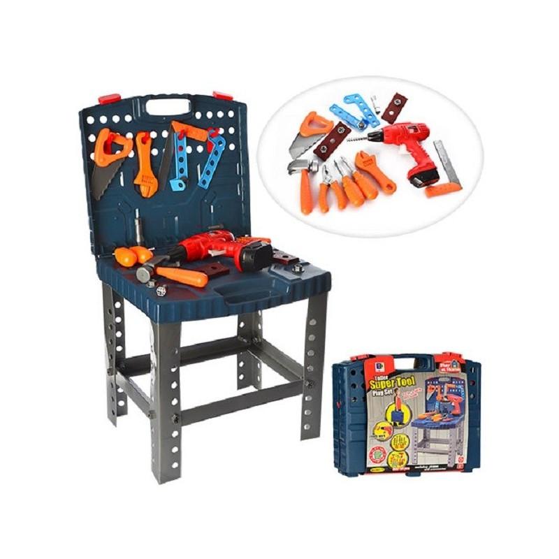 Детский набор инструментов 661-74 с дрелью