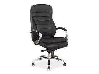 Офисное кресло кожаное Q-154 (Signal)