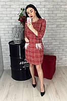 Платье женское красное 2990