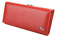 Женский кожаный кошелек ST 1518 RED