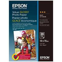 Папір 10*15 20л глянцевий C13S400037 Epson