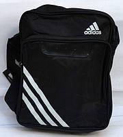 Сумочка через плечо Adidas белые полосы